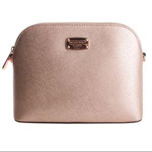 Rose gold Michael Kors cindy bag